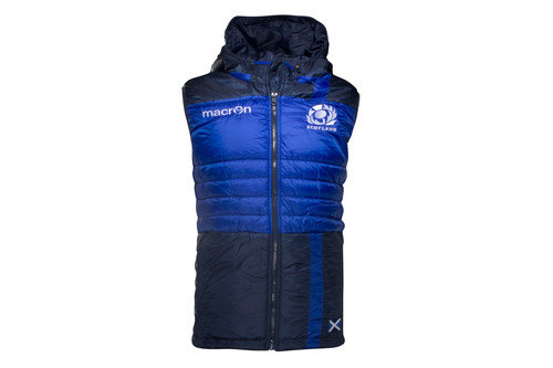 Scotland 2016/17 Players Off Field Padded Rugby Gilet