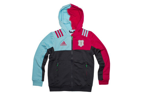Harlequins 2016/17 Kids Performance Hooded Rugby Sweat