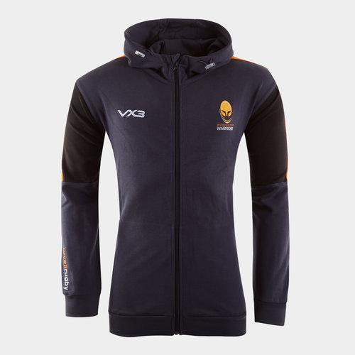 Worcester Warriors 2019/20 Ladies Full Zip Hooded Rugby Sweat