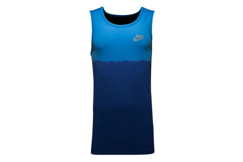 Run Performance Dip Tie Tank Top