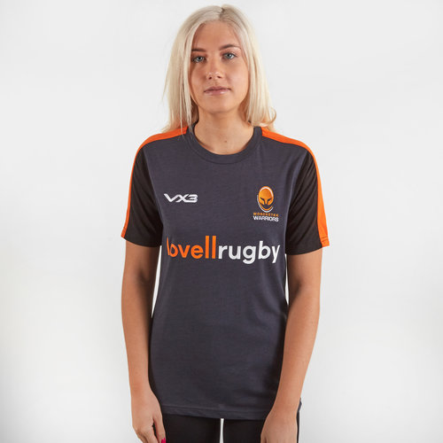 Worcester Warriors 2019/20 Ladies Cotton Rugby Training T-Shirt