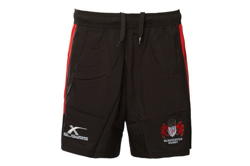 Gloucester 2016 Pro Tech Rugby Training Shorts