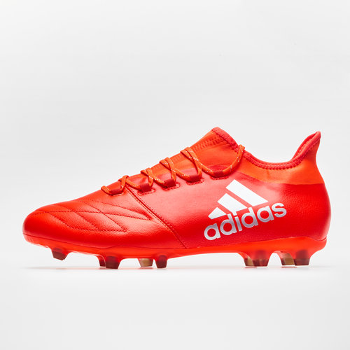 X 16.2 FG/AG Leather Football Boots
