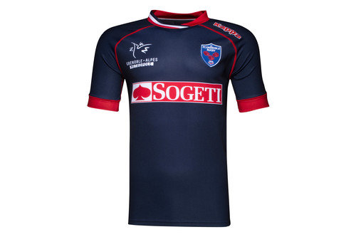 FC Grenoble 2016/17 Home Replica Rugby Shirt