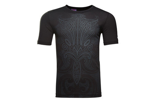 New Zealand Maori All Blacks 2016 Kids Graphic Rugby T-Shirt