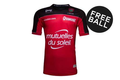 Toulon 2016/17 Kids Home S/S Replica Rugby Shirt