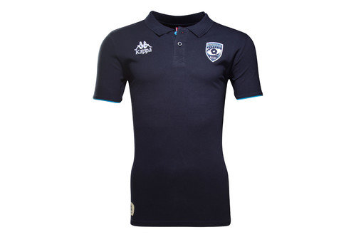 Montpellier 16/17 Players Authentic Rugby Polo Shirt