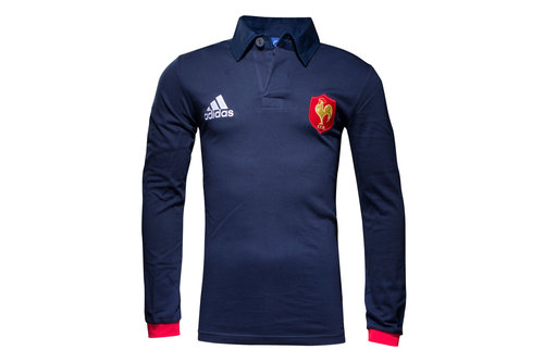 France 2016/17 Supporters L/S Rugby Shirt
