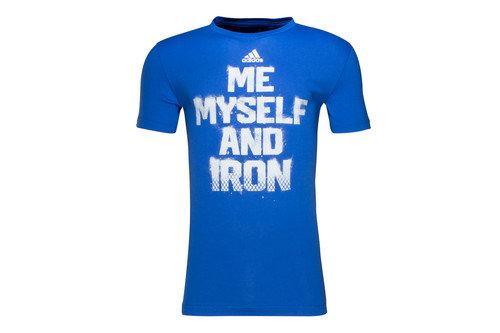 Me Myself And Iron S/S Graphic T-Shirt