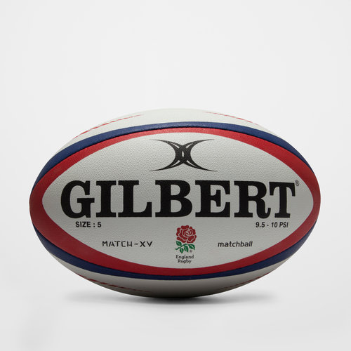 Gilbert England Match XV Rugby Ball