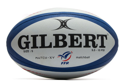 Gilbert France Match XV Rugby Ball