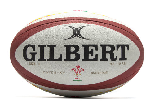 Gilbert Wales Match XV Rugby Ball