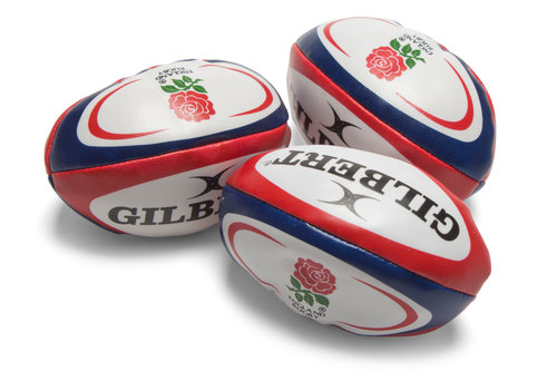 England Rugby Pack Of 3 Juggling Balls