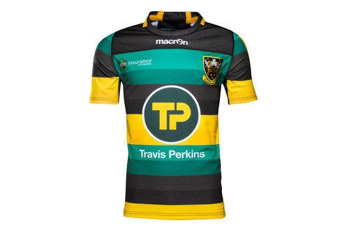 Northampton Saints 2016/17 Home S/S Replica Rugby Shirt