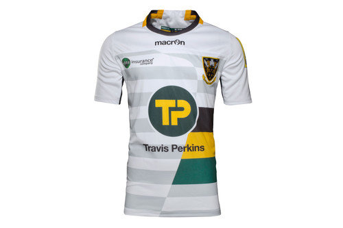 Northampton Saints 2016/17 Kids Alternate S/S Replica Rugby Shirt