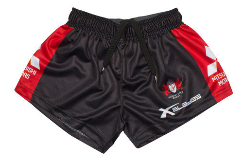 Gloucester 2016/17 Kids Home Rugby Shorts