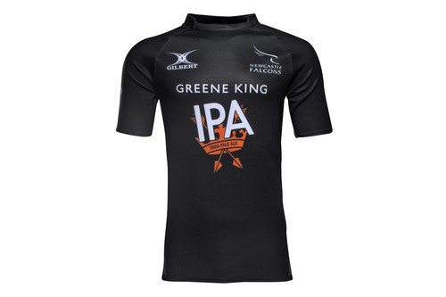 Newcastle Falcons 2016/17 Home S/S Replica Rugby Shirt