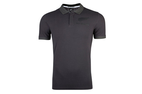 New Zealand All Blacks 2017 Players Anthem Rugby Polo Shirt