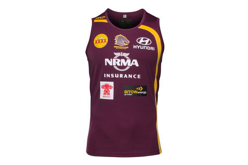broncos training singlet size guide