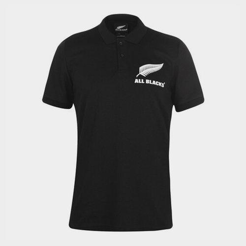 All Blacks Support Polo Shirt Mens