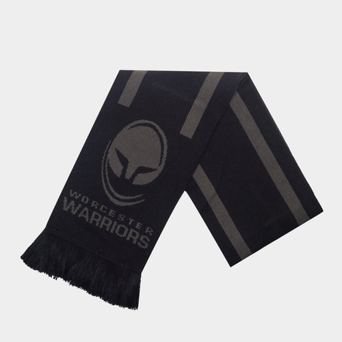 Worcester Warriors Monotone Supporters Rugby Scarf