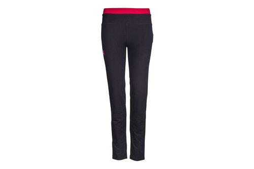 CCC Open Hem Ladies Contrast Fleece Pants
