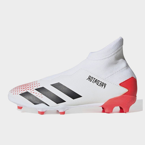 Predator 20.3 Laceless Childrens FG Football Boots