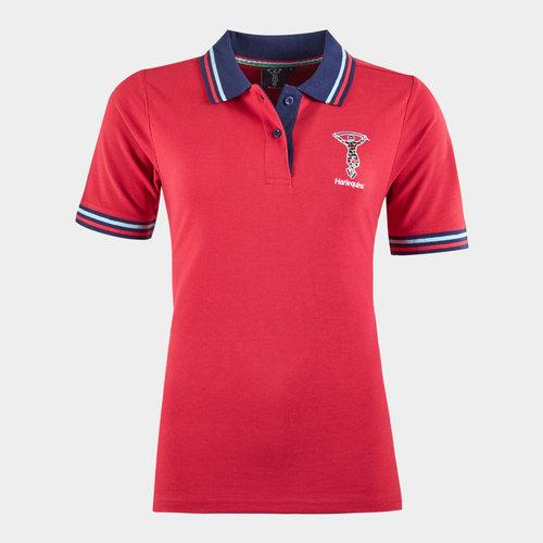 Harlequins Ladies Polo Shirt