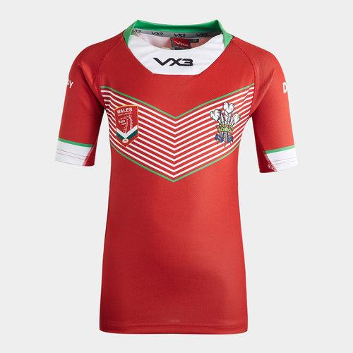 Wales League 2019/20 Kids Home S/S Shirt