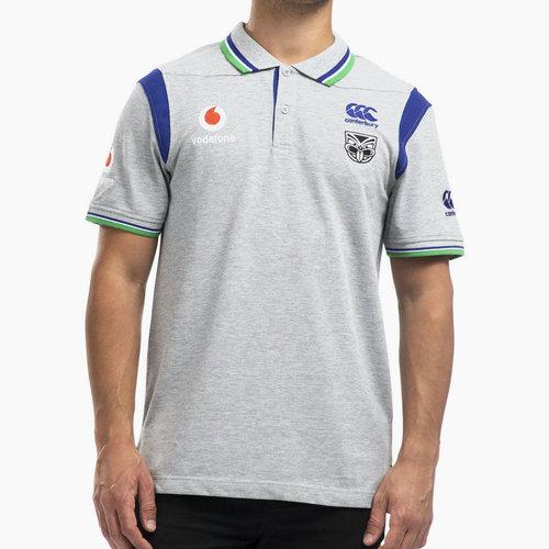 New Zealand Warriors NRL 2020 Media Polo Shirt