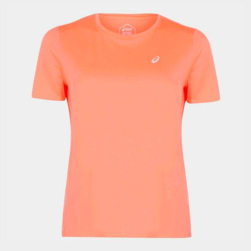 Katakana Running Short Sleeve T Shirt Ladies