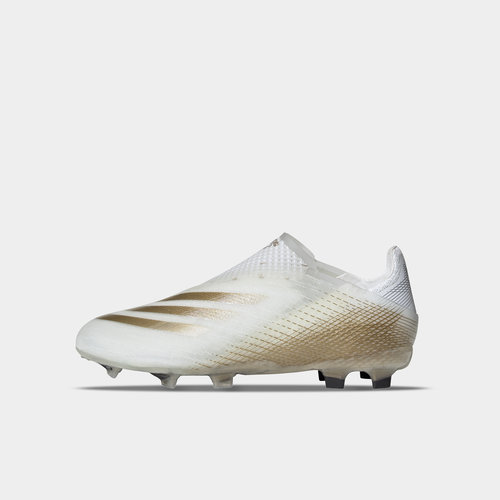 X Ghosted + Junior FG Football Boots