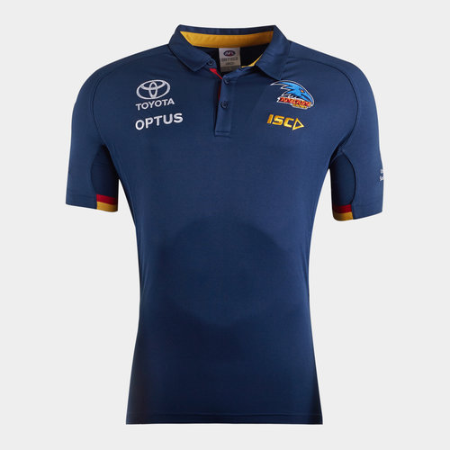 Adelaide Crows 2020 AFL Players Polo Shirt