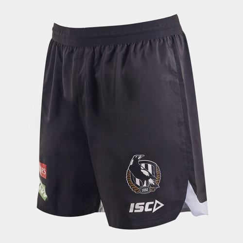 Collingwood Magpies 2020 AFL Players Training Shorts