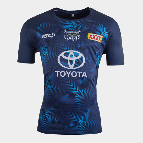 North Queensland Cowboys NRL 2020 Players Rugby Training T-Shirt
