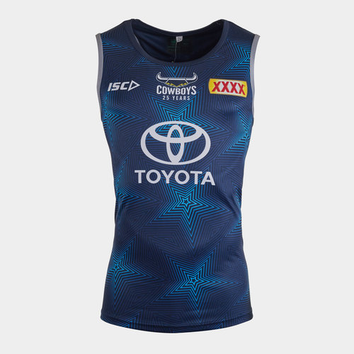 North Queensland Cowboys NRL 2020 Players Rugby Training Singlet