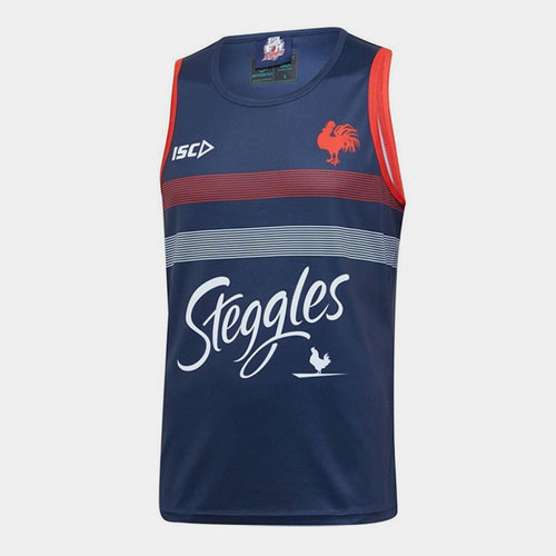Sydney Roosters NRL 2020 Players Rugby Training Singlet