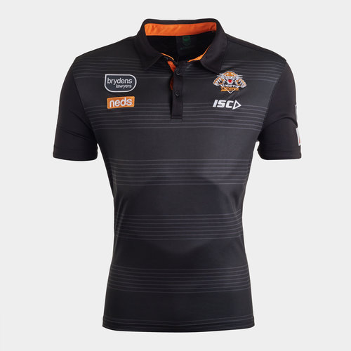 Wests Tigers NRL 2020 Players Rugby Polo Shirt