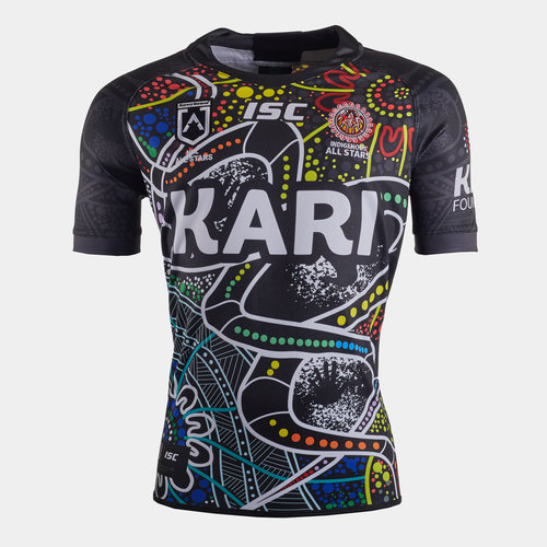 Indigenous All Stars 2020 NRL S/S Rugby Shirt
