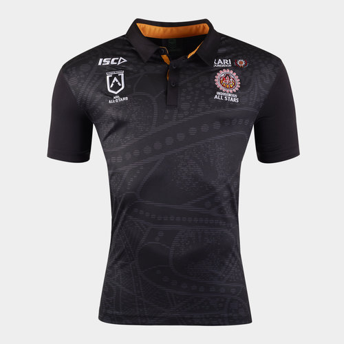 Indigenous All Stars 2020 NRL Players Rugby Polo Shirt