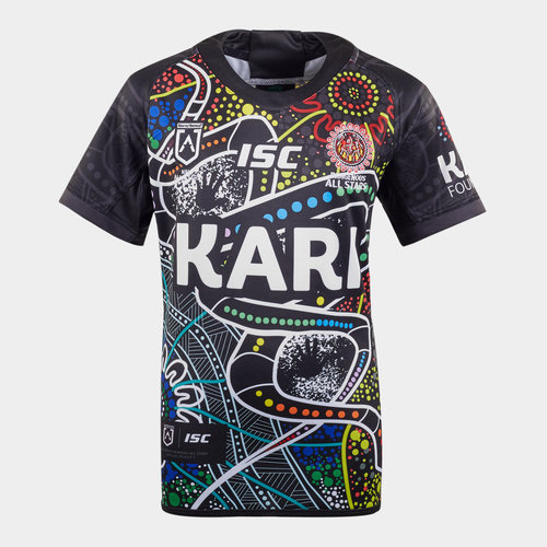 Indigenous All Stars 2020 NRL Kids S/S Rugby Shirt