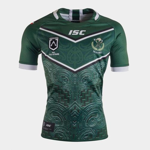 New Zealand Maori All Stars 2020 NRL S/S Rugby Shirt