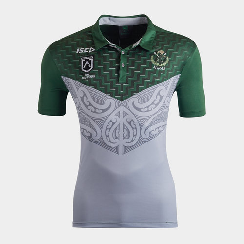 New Zealand Maori All Stars 2020 NRL Players Rugby Polo Shirt