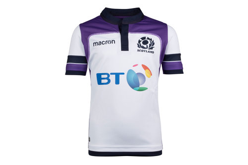 Scotland 2017/18 Alternate Kids S/S Replica Rugby Shirt