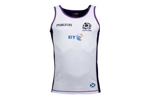 Scotland 2017/18 Players Dry Rugby Gym Singlet