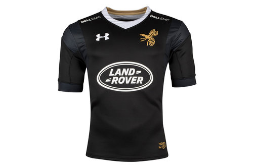 Wasps 2017/18 Home S/S Replica Rugby Shirt