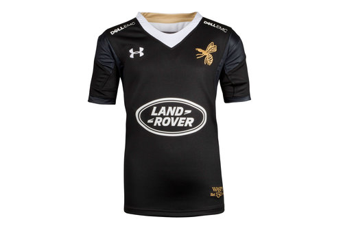 Wasps 2017/18 Kids Home Replica Rugby Shirt