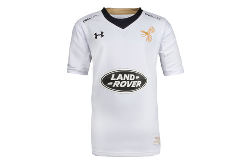 Wasps 2017/18 Kids Alternate Replica Rugby Shirt