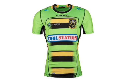 Northampton Saints 2017/18 Alternate S/S Authentic Test Rugby Shirt