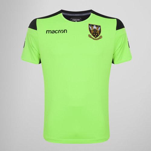 Northampton Saints 2017/18 Players Rugby Training T-Shirt